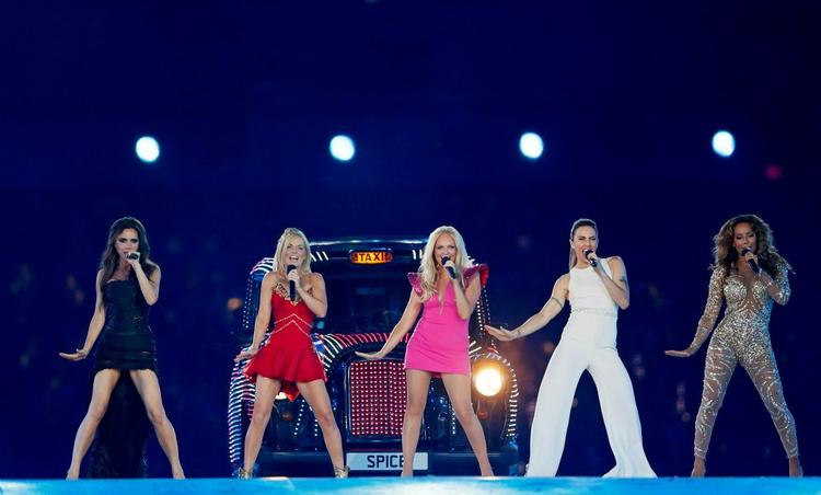 The Spice Girls Perform During The Closing Ceremony of the London Olympic Games Reuters