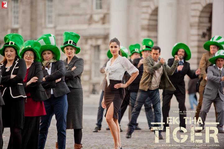 Katrina Ek Tha Tiger Song Poster