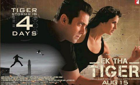Salman and Katrina Ek Tha Tiger Latest Poster