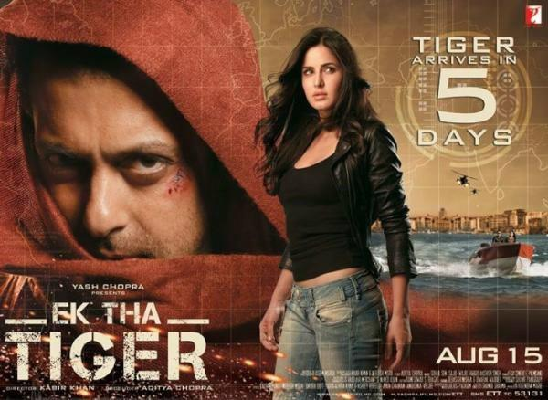 Salman and Katrina Ek Tha Tiger Wallpaper