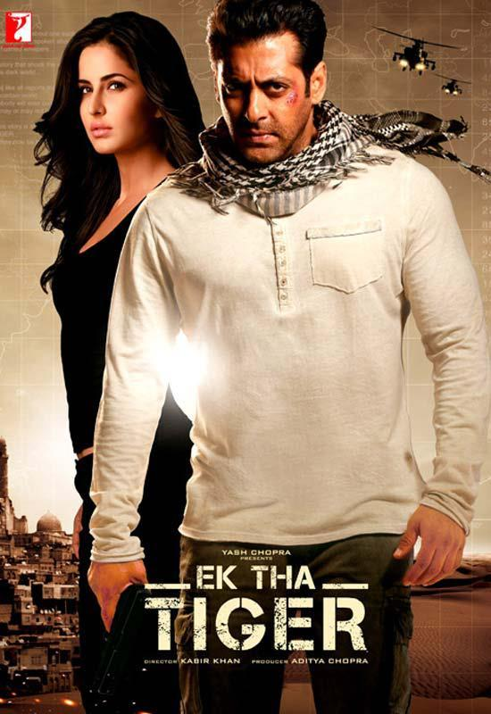 Salman and Katrina Pose Together For Ek Tha Tiger Poster