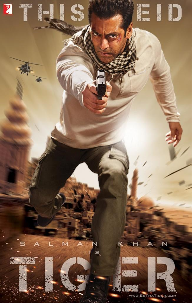 Salman Khan Ek Tha Tiger First Look Poster