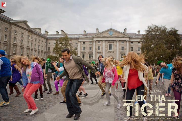 Salman Khan In Ek Tha Tiger Song Wallpaper