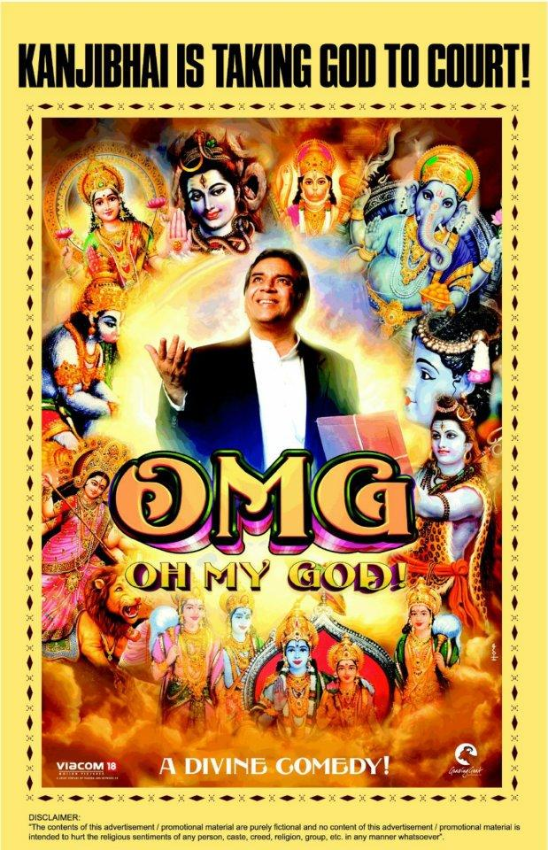 Paresh Rawal In OMG Oh My God Poster