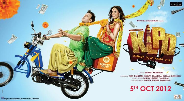 Mallika and Vivek In Kismat Love Paisa Dilli Poster