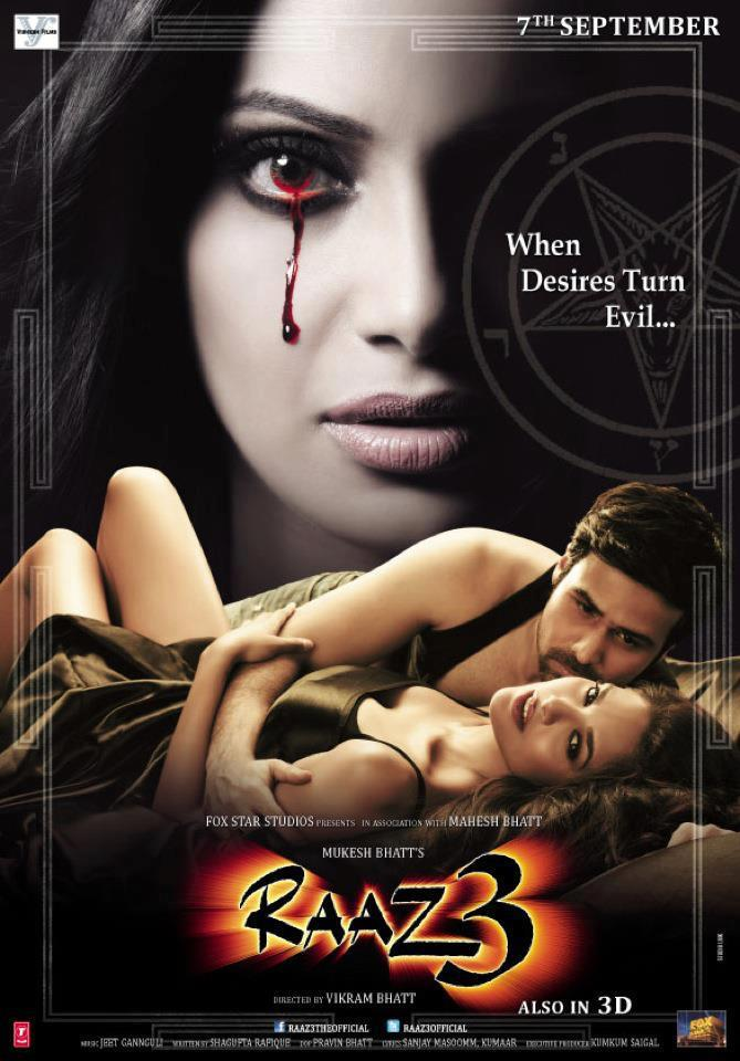 Sensational New Poster of Raaz 3