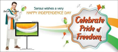 Saif Ali Khan in Sansui Ad - Celebrate Pride of Freedom