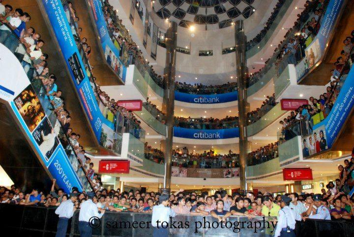 Ek Tha Tiger Promotion at Ambience Mall in Gurgaon