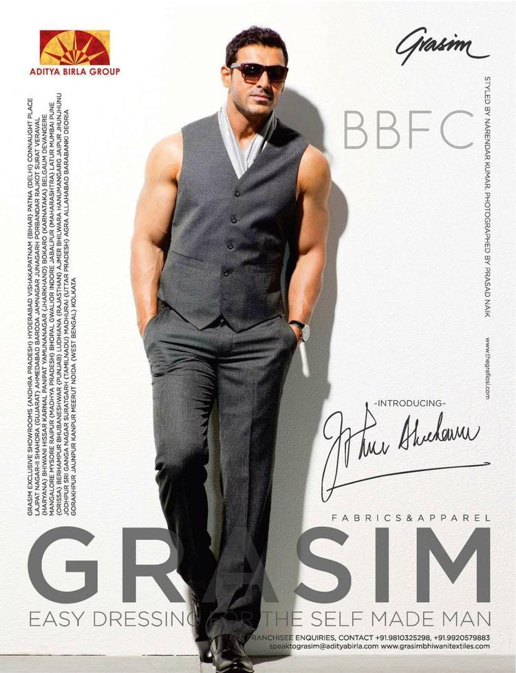 Exclusive John Abrahams New Print Ad for Grasim