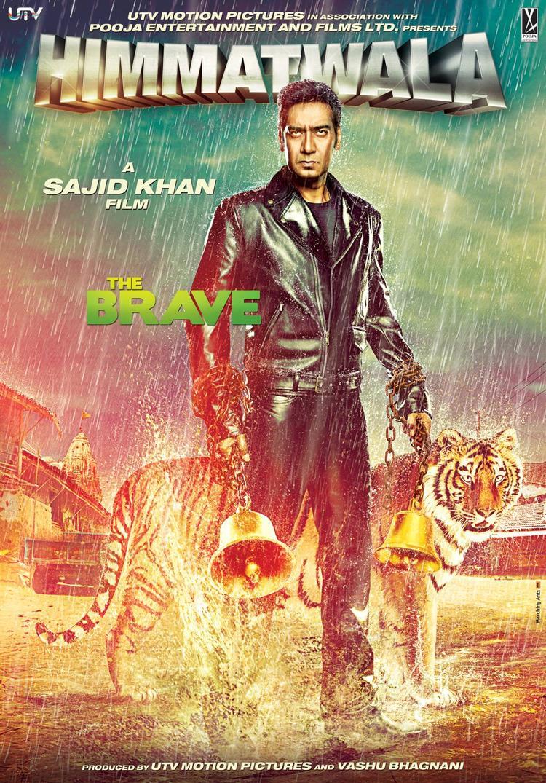 Ajay Devgan in Himmatwala Movie First Look Poster