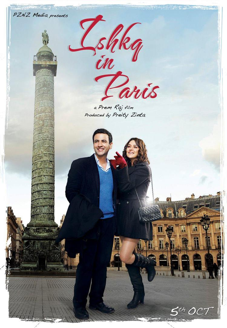 Another Exclusive Poster Ishkq In Paris