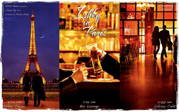 Ishkq In Paris Latest Poster