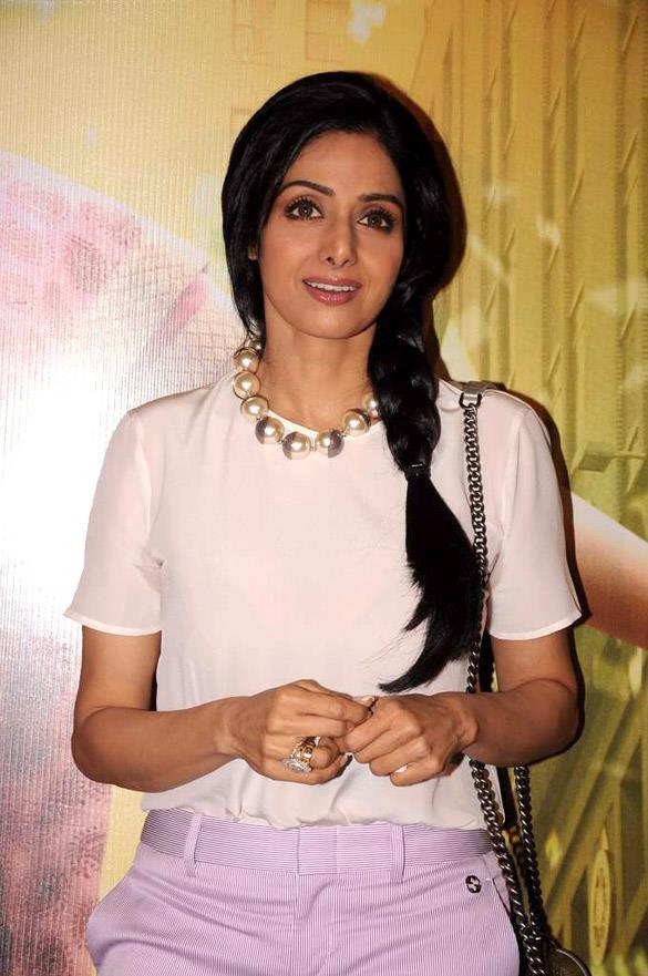 Sridevi at English Vinglish Movie First Look Launch