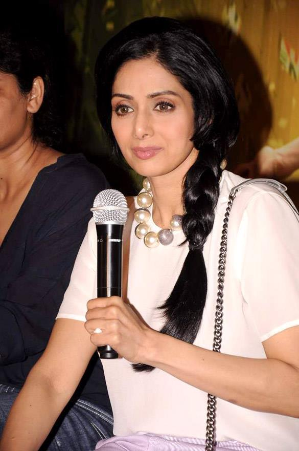 Sridevi Kapoor During English Vinglish First Look Launch