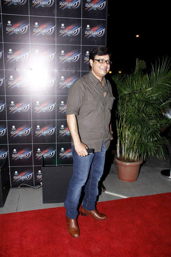 Sachin Pilgaonkar at The Outsider Party Launch