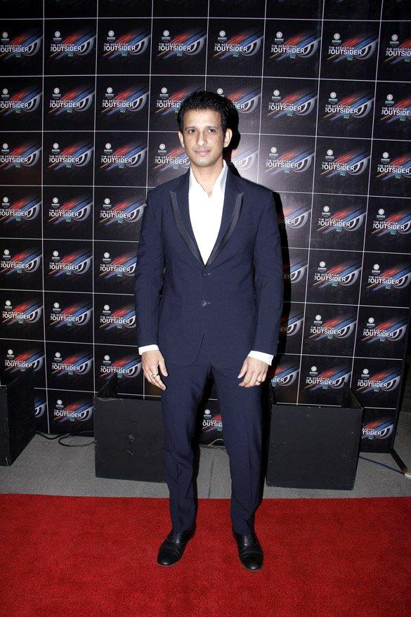 Sharman Joshi at The Outsider Party Launch