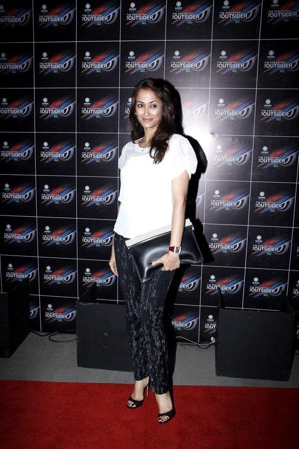 Sizzling Gayatri Joshi at The Outsider Party Launch