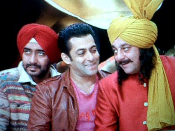 Sanjay,Salman and Ajay Sweet Nice Pic In Son Of Sardar