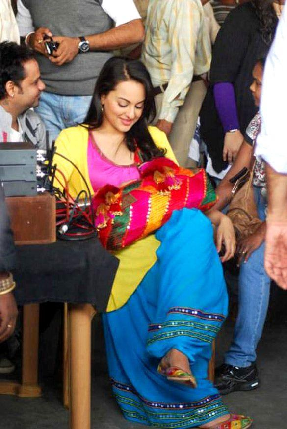 Sonakshi at Chandigarh For Son Of Sardar