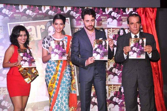 Imran and Sonam Launches Star Week Magazine