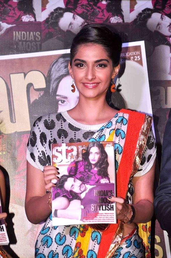 Sizzling Sonam Kapoor Launches The Star Week Magazine