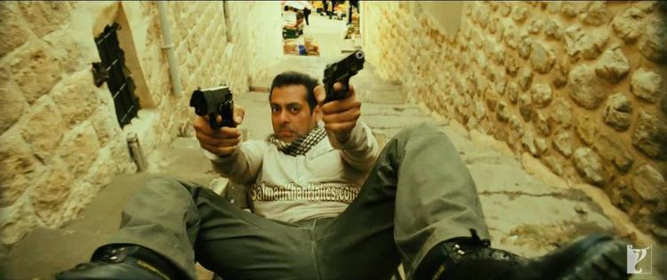 Salman Khan Action Still In Ek Tha Tiger