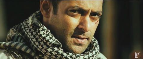 Salman Khan Angry Look In Ek Tha Tiger