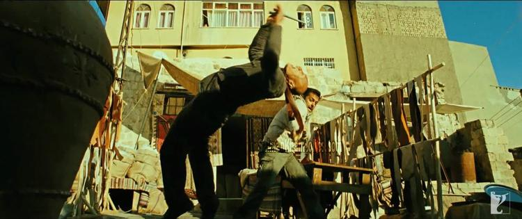 Salman Khan Fight Still In Ek Tha Tiger