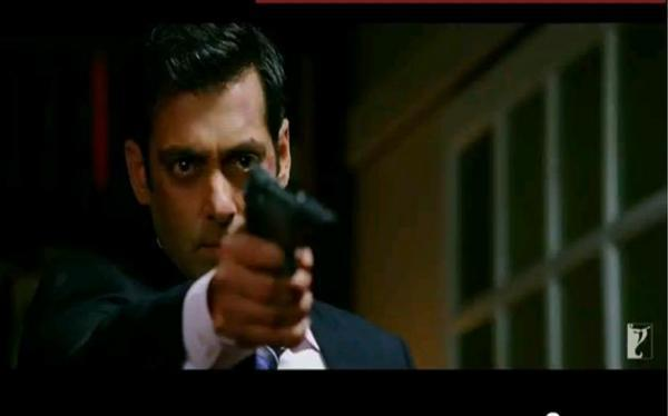 Salman Khan Killer Look Pic In Ek Tha Tiger