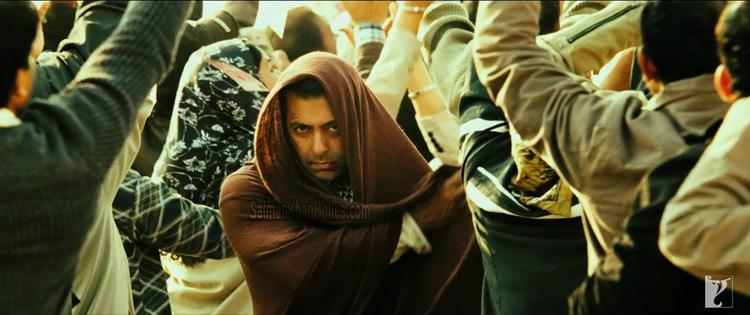 Salman Khan a Still From Ek Tha Tiger Movie