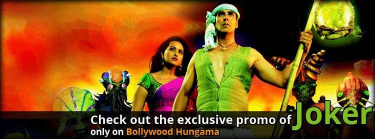 Akshay and Sonakshi Joker Movie Poster