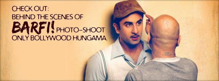 Ranbir Kapoor In Barfi Movie Poster