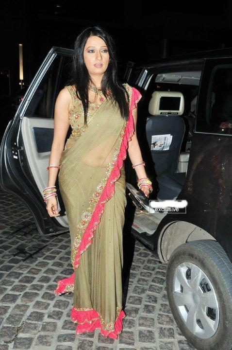 Brinda Parekh at South Filmfare Awards In Saree