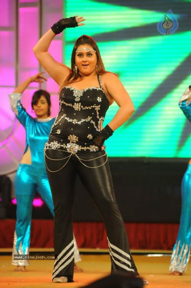 Namitha Performs at Santosham Awards