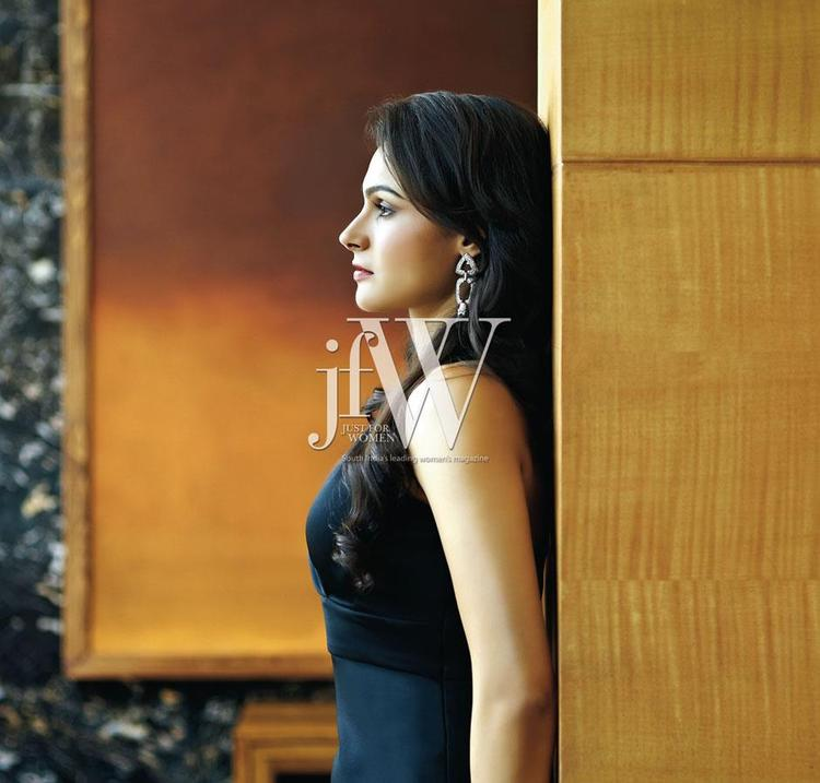 Andrea Jeremiah Photo Shoot For JFW Magazine