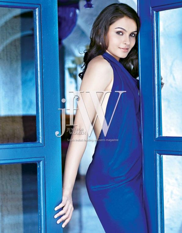 Andrea Jeremiah Sweet Sizzling Pose For JFW Magazine
