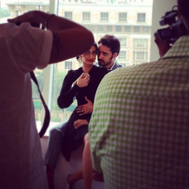 Sonam and Imran Latest Pose For Star Week Magazine