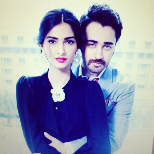 Sonam Kapoor and Imran Khan Hot Shoot For Star Week