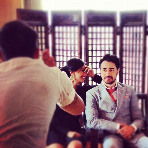 Sonam Kapoor and Imran Khan Shoot For Star Week