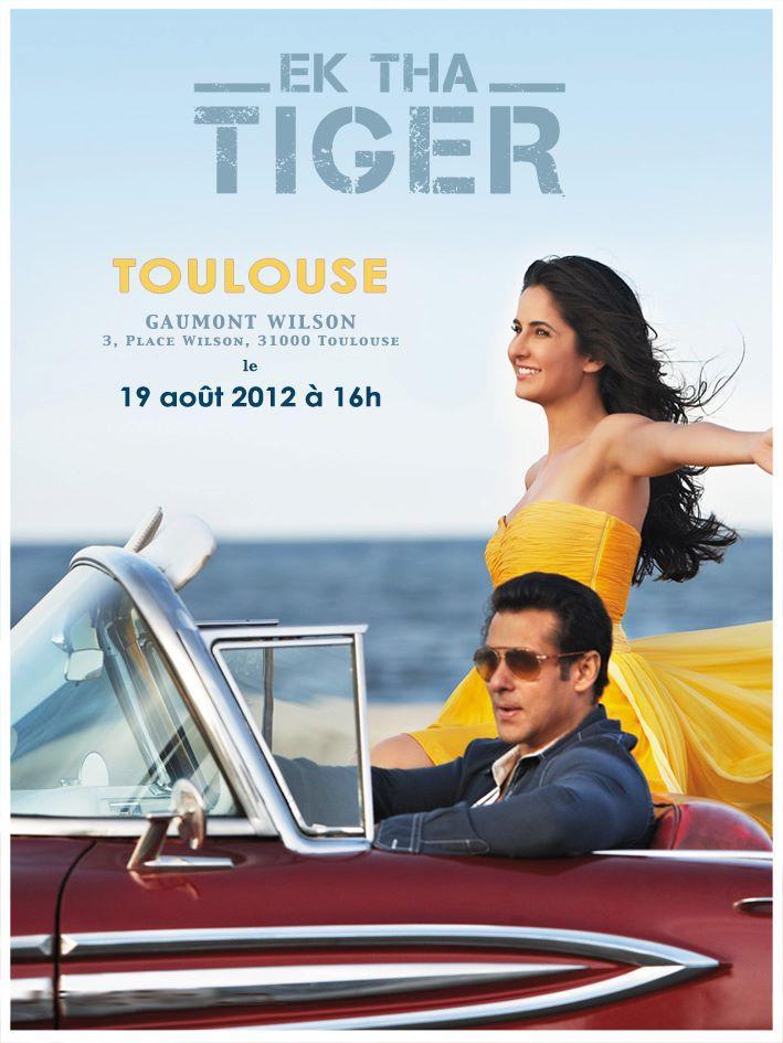 Ek Tha Tiger French Latest Poster