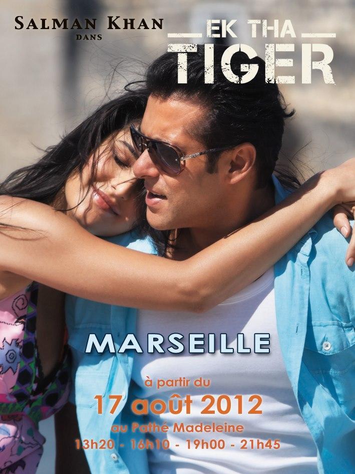 Ek Tha Tiger French Poster