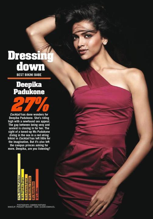 Deepika Padukone The Hottest Bikini Babe