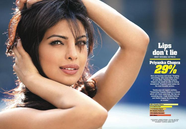 Priyanka Chopra The Most Kissable Woman