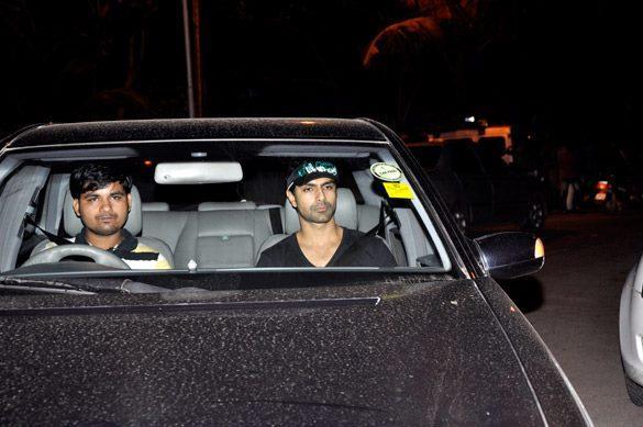Ashmit Patel Arrives at Salman Khan's Eid Party in Mumbai