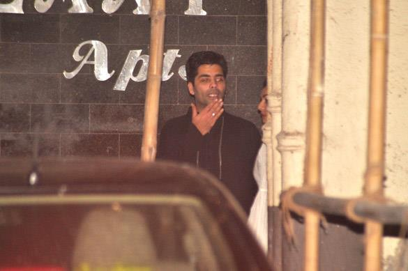 Karan Johar at Salman Khan's Eid Party