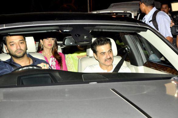 Sanjay Kapoor Attend Salman Khan's Eid Party