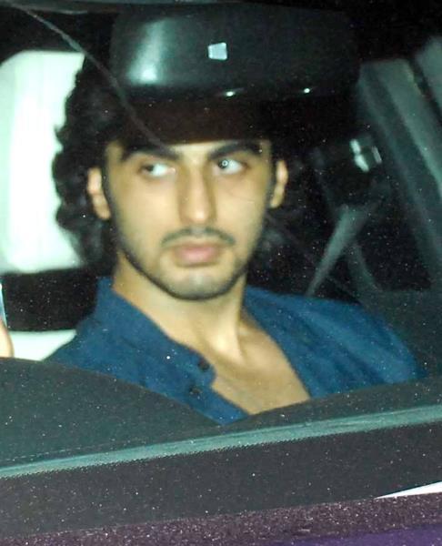 Arjun Kapoor at Salman Khan's Eid Party
