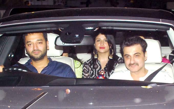 B town Celebs At Salman Khan's EID Party