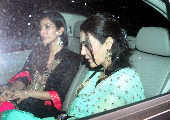 Preity Zinta Snapped at Salman Khan's Eid Party