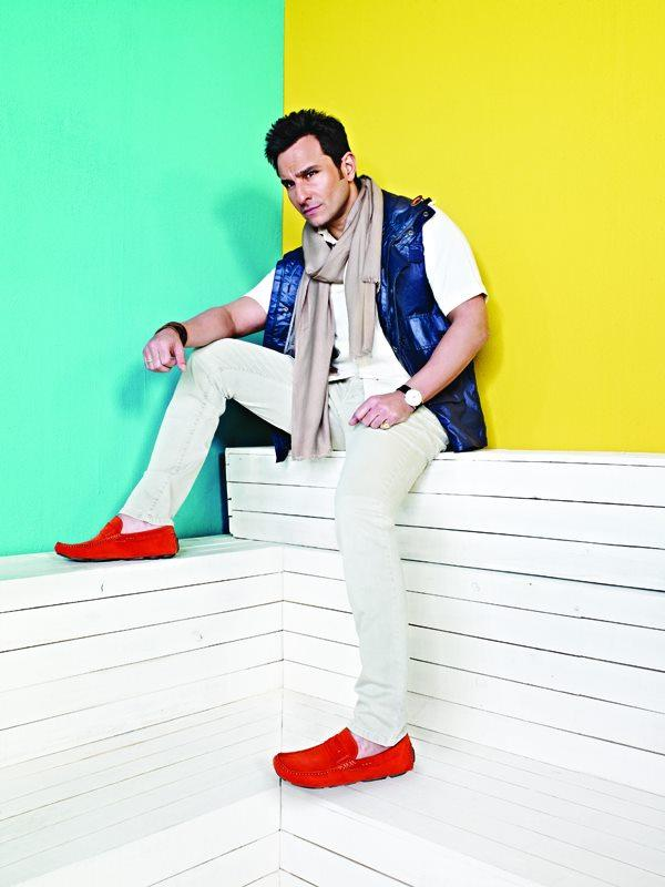 Latest Photos of Saif Ali Khan For Metro Shoes
